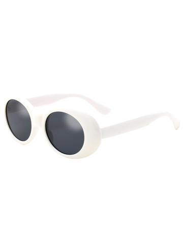 Fashion Anti UV Oval Retro Wrap Frame Sunglasses