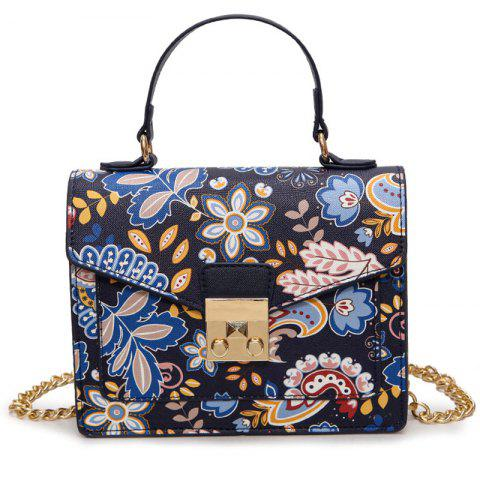 Best Metal Detail Print Handbag