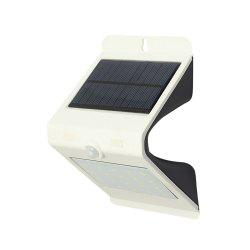 LED Motion Sensor Solar Powered Waterproof Wall Lamp