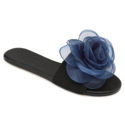 Elastic Band Flower Slippers