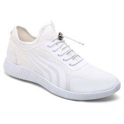 String Stretch Fabric Athletic Shoes
