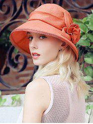 Sunproof Floral Mesh Splicing Bucket Sun Hat