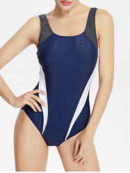 One Piece Cross Back Swimwear