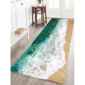 Sea Tide Water Absorptive Flannel Antiskid Rug