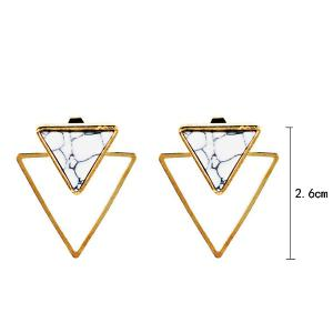 Vintage Rammel Triangle Ear Jackets -