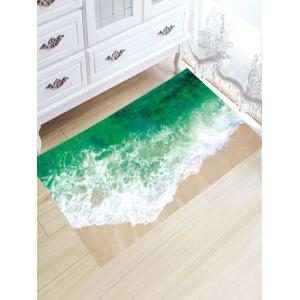 Sea Tide Water Absorption Skidproof Flannel Rug