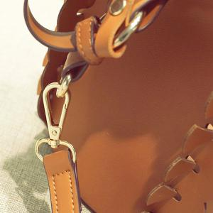 Scalloped Bucket Bag and Pouch Bag -