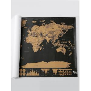 Scratch World Map Travel Edition Deluxe - Bronzé 82.5*59.4CM