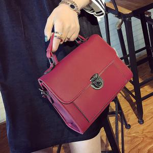 Push Lock Cross Body Handbag -