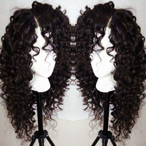 Shop Long Curly Side Parting Lace Front Synthetic Wig