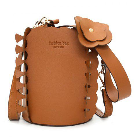 Cheap Scalloped Bucket Bag and Pouch Bag