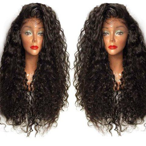 Chic Long Curly Side Parting Lace Front High Temperature Fiber Wig