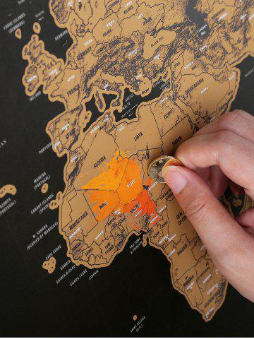 Buy Scratch World Map Travel Edition Deluxe - 82.5*59.4CM BRONZE-COLORED Mobile