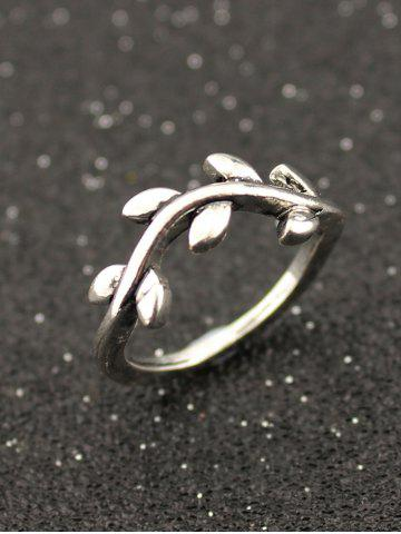 Outfits Starfish Tortoise Teardrop Leaf Alloy Fingertip Ring Set - SILVER  Mobile