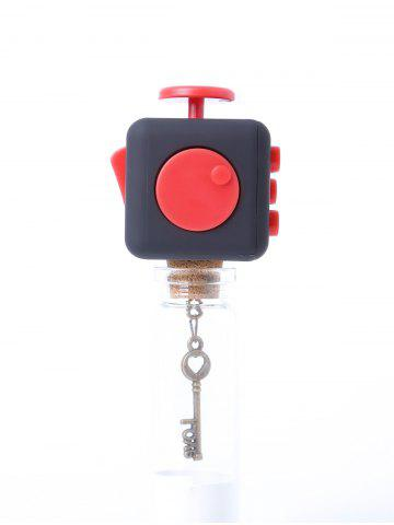 Chic Squeeze Stress Reliever Finger Toy - RED  Mobile
