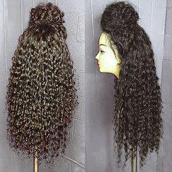 Curly Long Lace Front Synthetic Wig