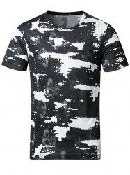 Stretchy Smooth Camouflage T-Shirt