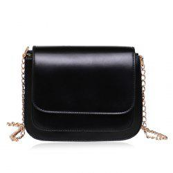 Flap Chain Cross Body Bag
