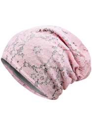 Breathable Lace Layer Floral Hat