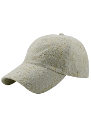 Breathable Lace Floral Baseball Cap