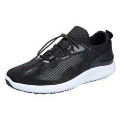 Breathable Tie Up Mesh Athletic Shoes
