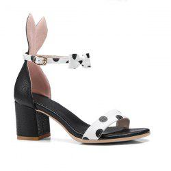 Rabbit Ears Polka Dot Sandals