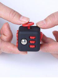 Pincez balle anti-stress Finger Toy Fidget Cube - Rouge