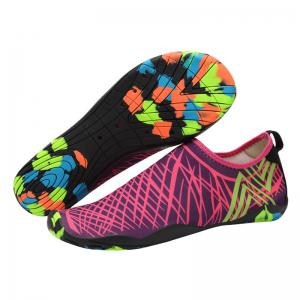 Outdoor Graphic Breathable Skin Shoes - ROSE RED 44