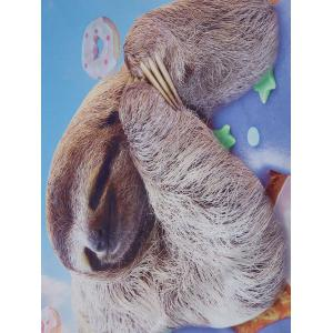 Doughnut Sloth Animal Printed Beach Throw - COLORMIX 150*150CM