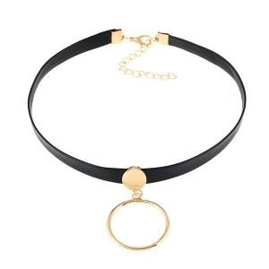 Vintage Circle Choker Necklace