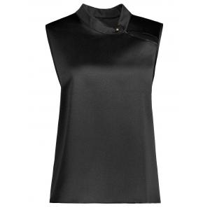 Plus Size Flare High Neck Tank Top