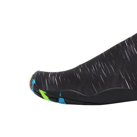 Fashion Outdoor Graphic Breathable Skin Shoes - 43 BLACK Mobile
