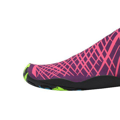 Trendy Outdoor Graphic Breathable Skin Shoes - 43 ROSE RED Mobile
