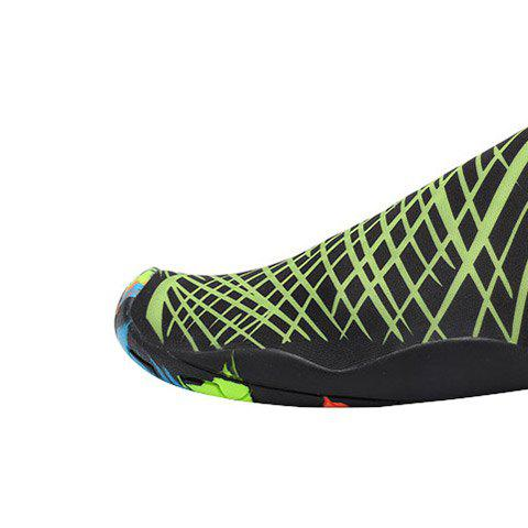 Outfits Outdoor Graphic Breathable Skin Shoes - 43 GREEN Mobile
