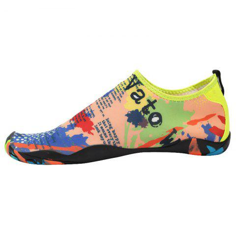 Discount Outdoor Graphic Breathable Skin Shoes - 35 FLORAL Mobile
