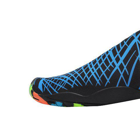 Outfit Outdoor Graphic Breathable Skin Shoes - 43 BLUE Mobile