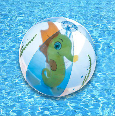 New Outdoor Transparent Inflatable Beach Ball with Animal Inside -   Mobile
