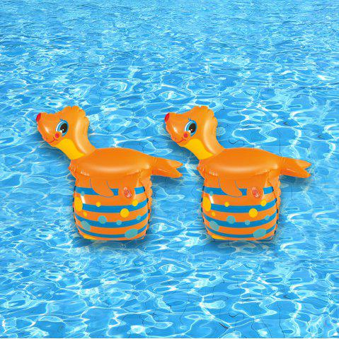 New 2 Pcs Seal Shape Inflatable Arm Rings -   Mobile