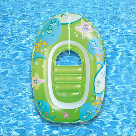 Cheap Dolphin Starfish Print Inflatable Floating Boat -   Mobile