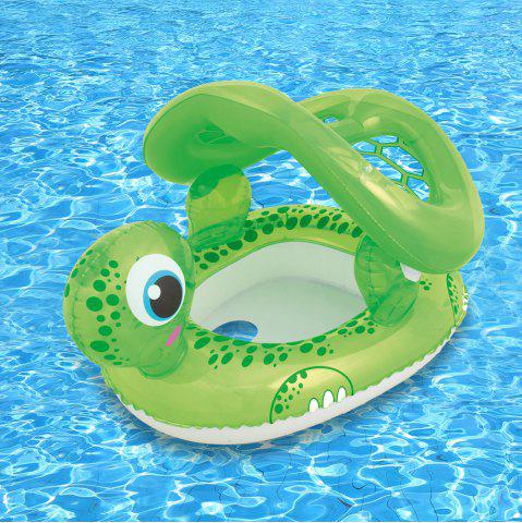 Buy Turtle Shape Swimming Pool Water Seat with Anti-UV Canopy -   Mobile