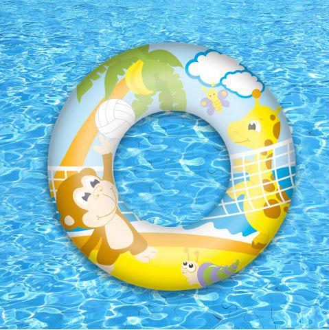 Hot Graphic Print Swim Ring -   Mobile