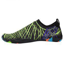 Outdoor Graphic Breathable Skin Shoes - GREEN 43