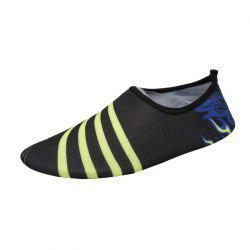 Outdoor Striped Quick Dry Skin Shoes
