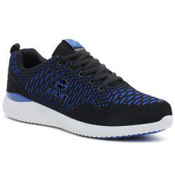 Breathable Color Block Sports Mesh Trainers