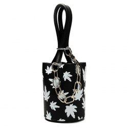 Maple Leaves Bucket Bag and Pouch Bag