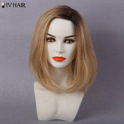 Siv Hair Colormix Side Part Straight Bob Human Hair Wig