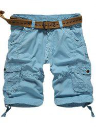 Cargo Multi Pockets Shorts