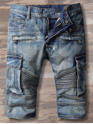 Five Minute Multi Poches Denim Shorts
