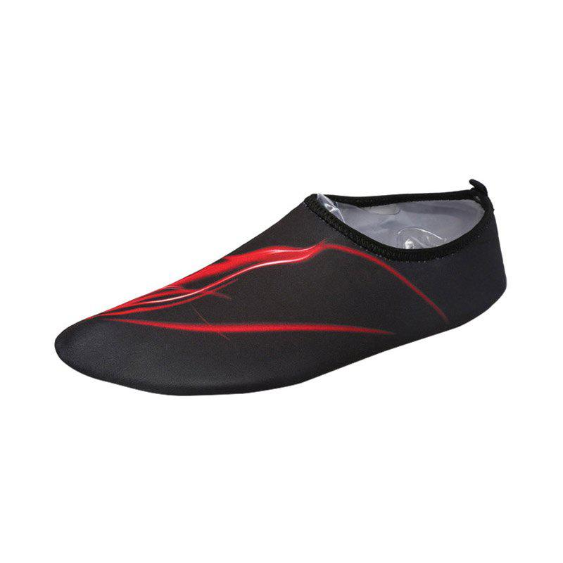 Best Outdoor Fire Pattern Quick Dry Skin Shoes