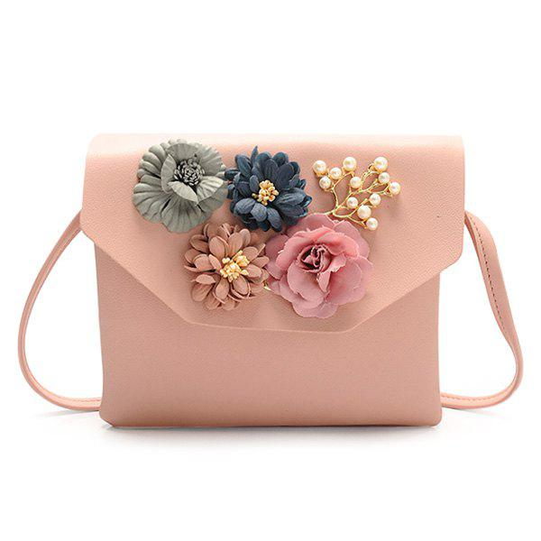 Best Flowers Faux Leather Crossbody Bag